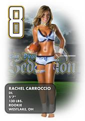 Rachel Carroccio - Lingerie Football League - San Diego Seduction