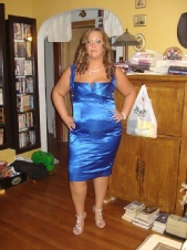 Krystal Pratt - Blue Dress