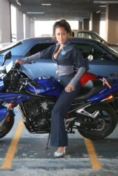 mia mossy - biker