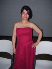 Miranda Jimenez - In my bridsmaid dress looking good