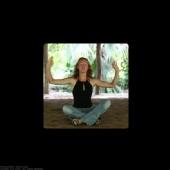 Yvonne Donohue - Meditating
