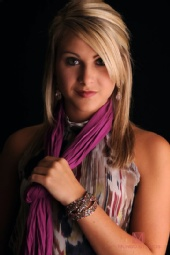 Brianna - Scarf and Bracelet