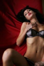 Amelie Alden - Red Silk