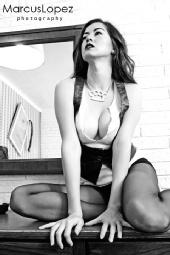 Jen Dixon - Marcus Lopez photo, Alex Dixon MUA
