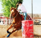 Dara Pearce - Barrel Racing