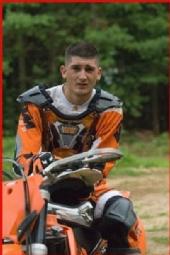 Chris - On dirt bike