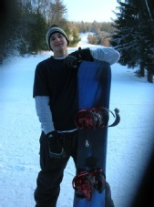 Chris - Snowboarding