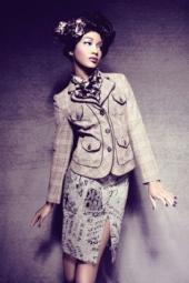 Model Carolyn Williams - Editorial / Studio