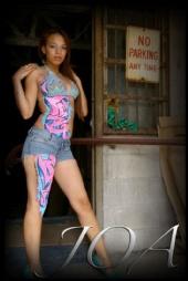 Mizz Joa - Graffiti Body Paint