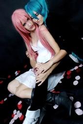 Saria - Cosplay photo: Luka (me) Miku (Jessica)