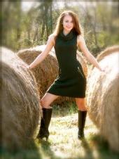 Meghan - Green Dress