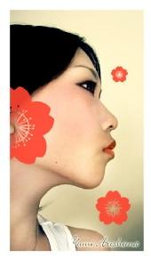 Yumi - Red Flower