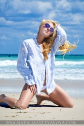 Natalia Averyanova - Beach Shoot