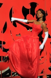 Celestine McGee - Red Elegance