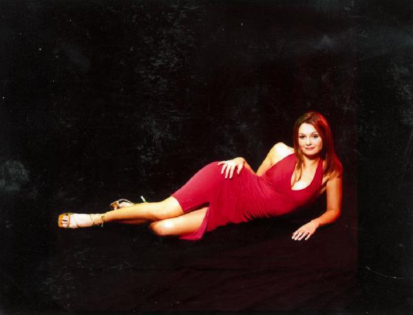 janey - red dress