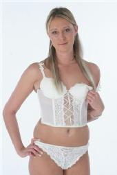 anna J - White Underwear