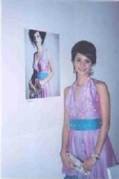 Marissa Nava - the dress that I designed