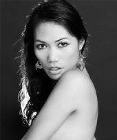Claudia Tabilisma - black & white