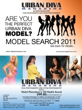 TROY JONES - URBAN DIVA MAGAZINE MODEL SEArch 2011