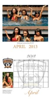 Al Lock Photography - April 2013 - Stikers Swimsuit Calendar