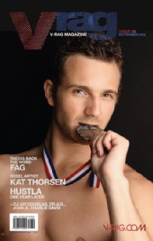 Pierre Simard - Demis for the cover of V-Rag Magazine
