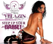 VBLAZIN Magazine - VB ad