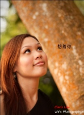 Claris Lim  - Missing you (outdoor shoot)