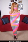 "Lubov Bound Damsels - Ashley's Sexy New ""Dress"""