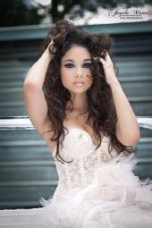 Crystal Lockinour - P: Angela Mann H/MUA: Crystal Lockinour