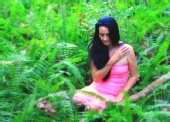 Nikki Savage - in a Fern Forest - January 2011