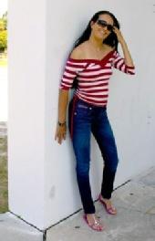 Nikki Savage - at Sims Park - May 2011