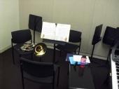 Jon Holloway - practice room