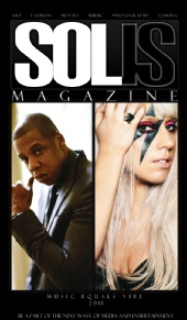 SOLIS MAGAZINE  - Music Equals Vibe