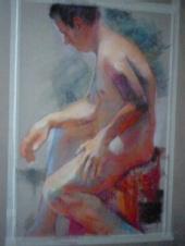 SK ATL - Nude sit