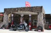 Mike Sayer - Gas Station Along Route 66