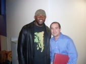 Brian Bower - Me and Ray Lewis