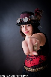 Love Vivienne - Superhero Steampunk