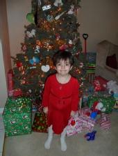 Haley - christmas 2012