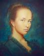 Scott Glover - Daria, 16x20 Oil on canvas